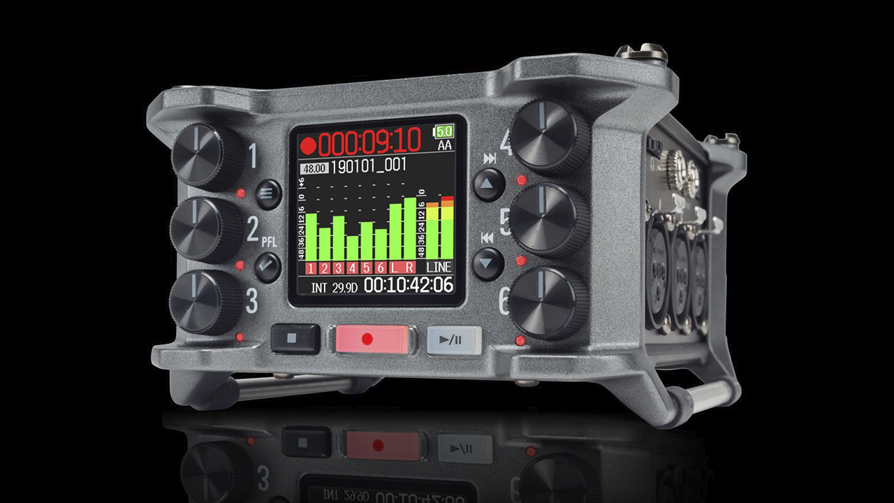 Zoom F6 Field Recorder - Now Available | cinema5D