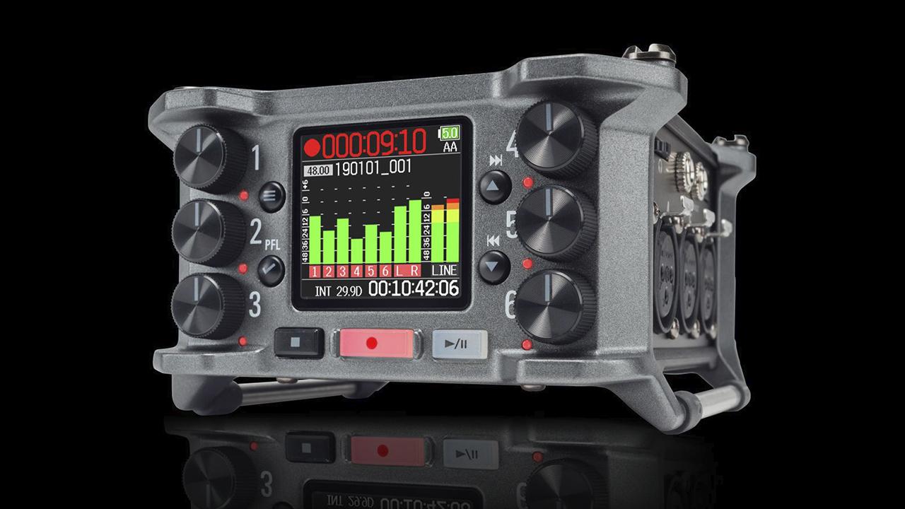 Grabador de Campo Zoom F6 - Ahora disponible