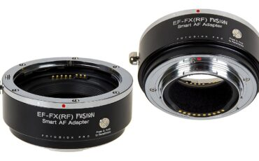 Fotodiox Pro Fusion Smart AF Adapter - Canon EOS (EF and EF-S) Lenses on FUJIFILM X-Series Cameras