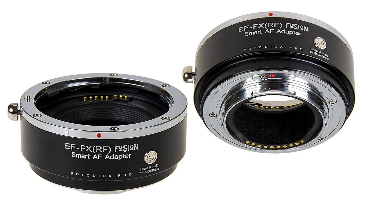 FotodioxがPro Fusion Smart AF Adapterを発表 - EF/EF-Sレンズを富士フイルムXマウントカメラにマウントできるアダプター