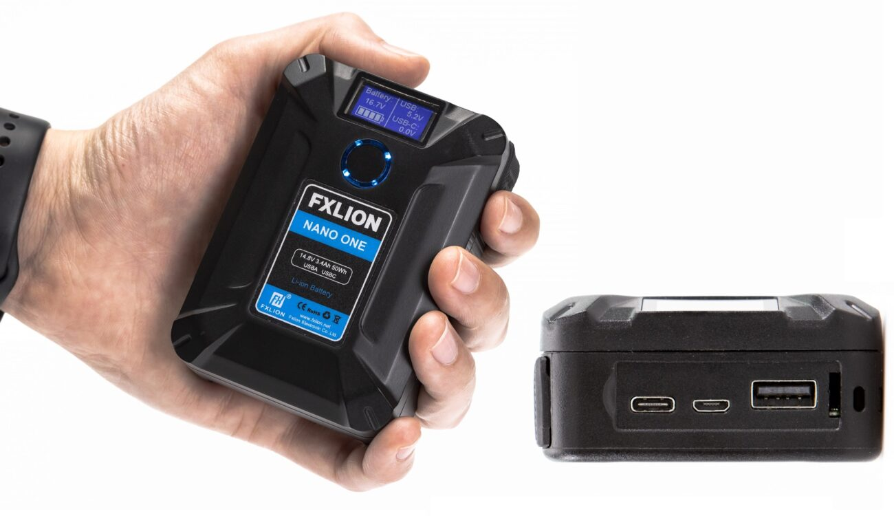 Fxlion NANO ONE - 50Wh V-Lock Battery with Multiple Connectors