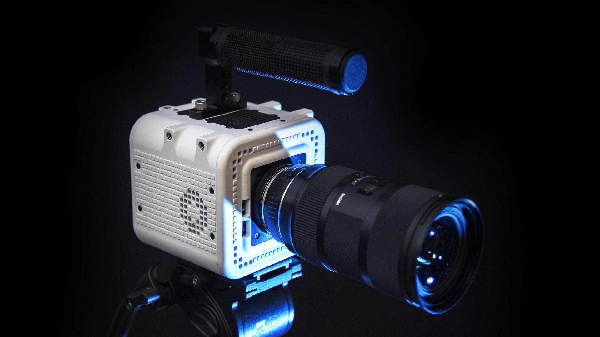 CÁMARA OCTOPUS - Prototipo de cámara de cine con partes actualizables