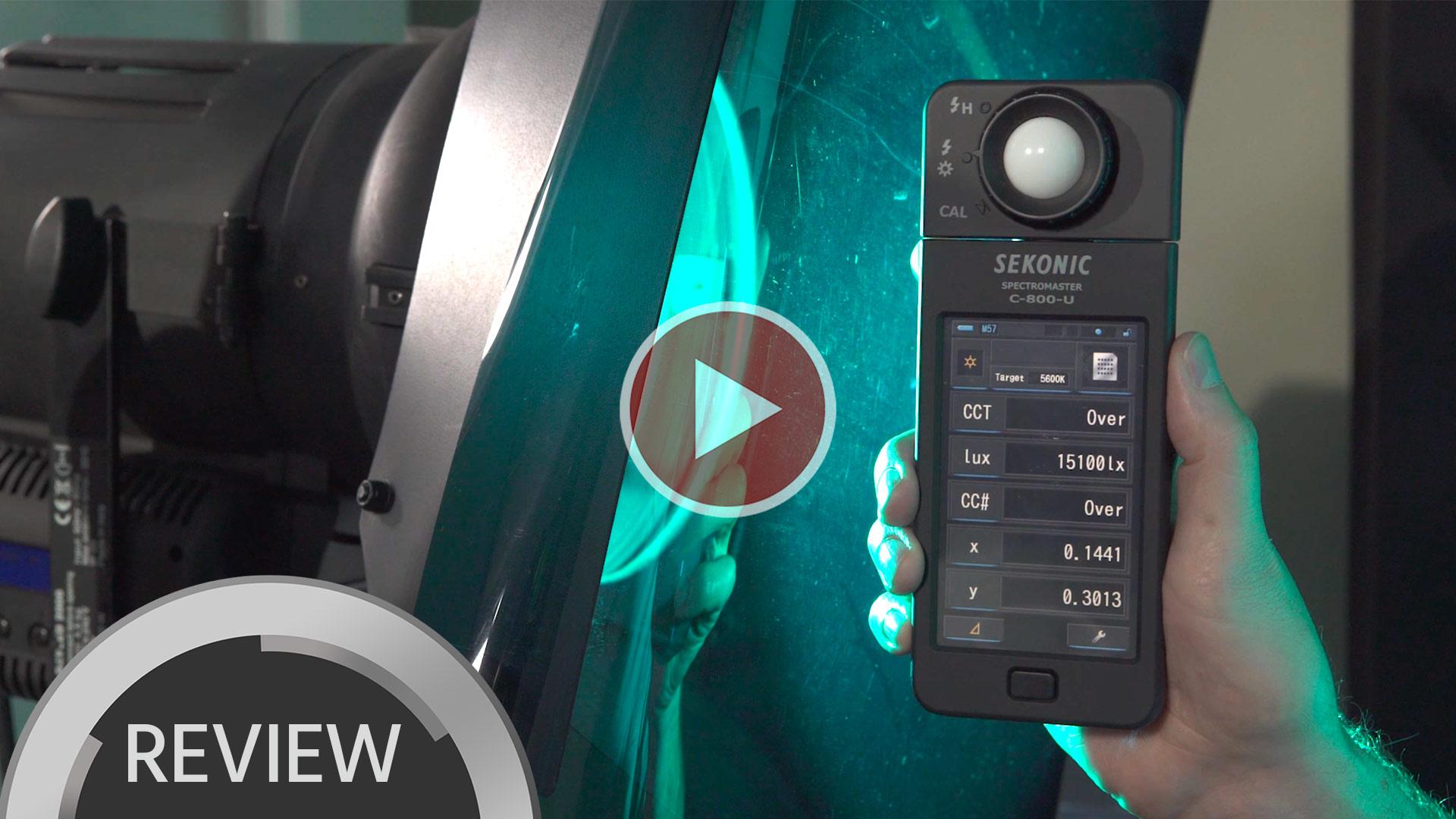 Cómo igualar el color de tus luces y más – Reseña del Sekonic C-800 Spectromaster