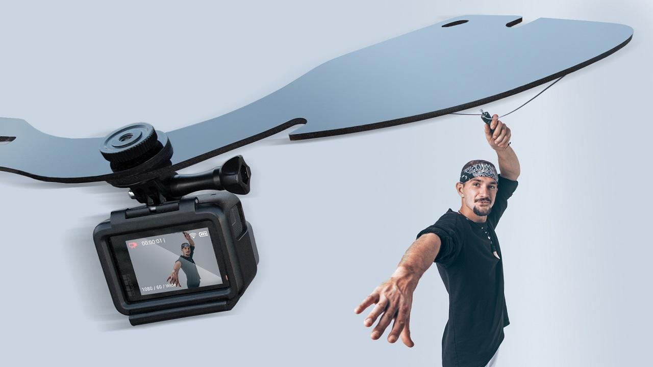 Wingo Pro captura selfies estilo bullet-time con cámaras de acción – ahora en Kickstarter