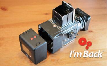 """""""I'm Back"""" Goes Medium Format –Digital Back for Analogue Cameras"""