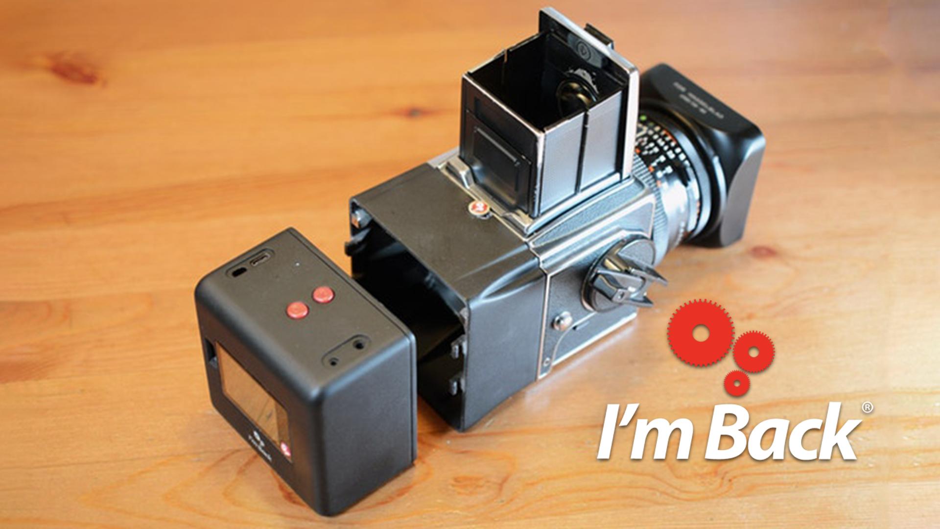 """I'm Back"" llega al formato medio - Tapa Digital para cámaras analógicas"
