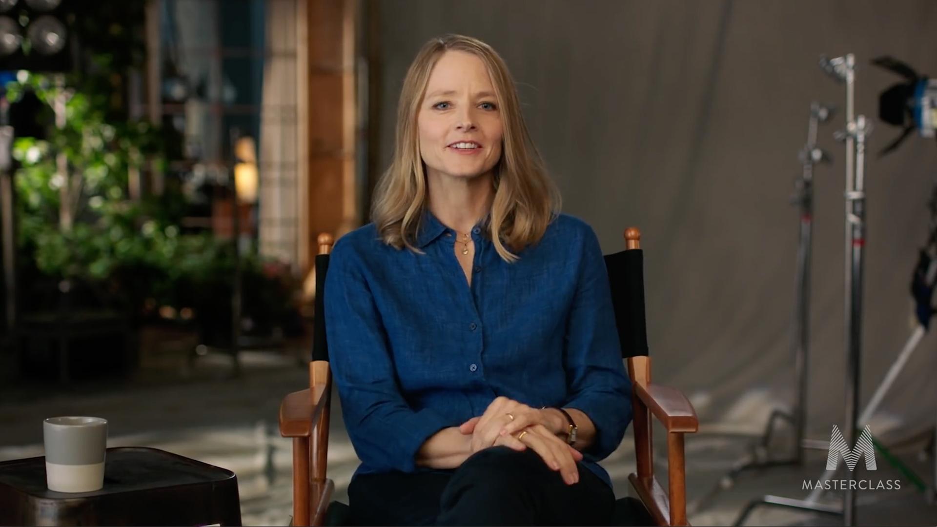 Reseña de la Masterclass de Jodie Foster: La perspectiva de un actor/director sobre la realización cinematográfica