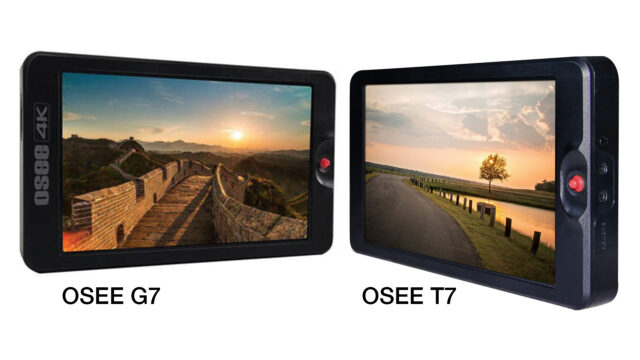 OSEE G7 & T7 - 4K 3000nits - 1920x1200px - 1200:1 LCD IPS Panel