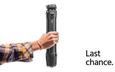 Only Hours Left: Peak Design Travel Tripod – Most Successful Photography Kickstarter Campaign Ever