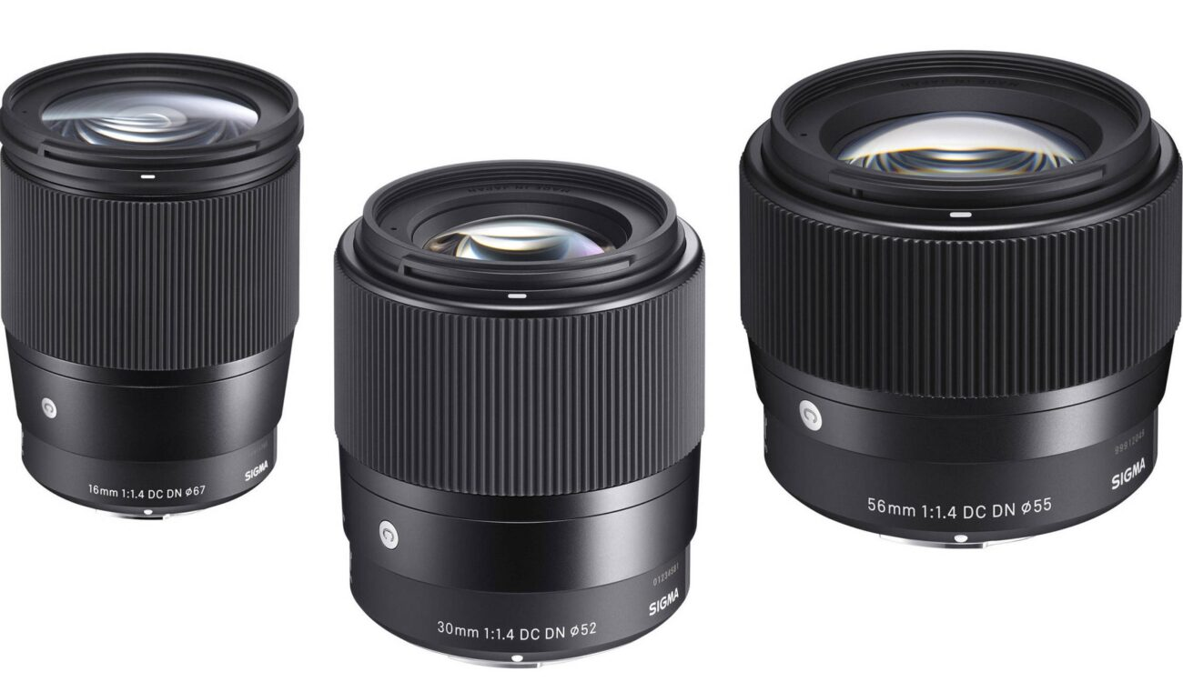 SIGMA 16mm, 30mm and 56mm f/1.4 - Soon Available for Canon EF-M Mount