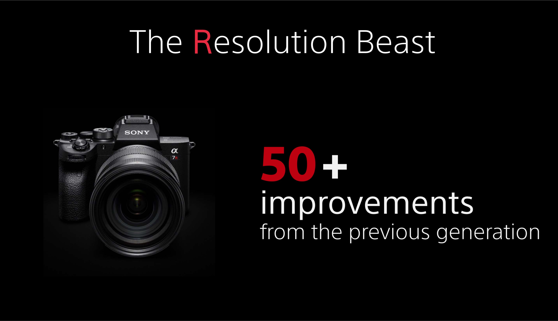 Sony announces high-resolution A7R IV with 61MP sensor