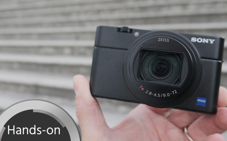 Sony RX100 VII Announced - Hands on First Look