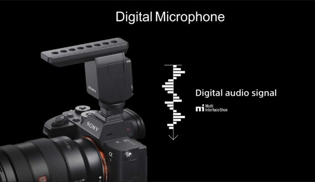 Sony A7RIV - Digital Microphone / Digital Audio Signal (MI-Shoe)