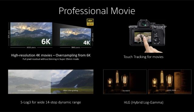 Sony A7RIV - Professional Movie