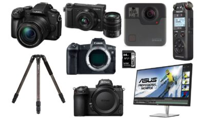 This Week's Top Deals for Filmmakers – Panasonic, Canon, Nikon, and GoPro Cameras and More