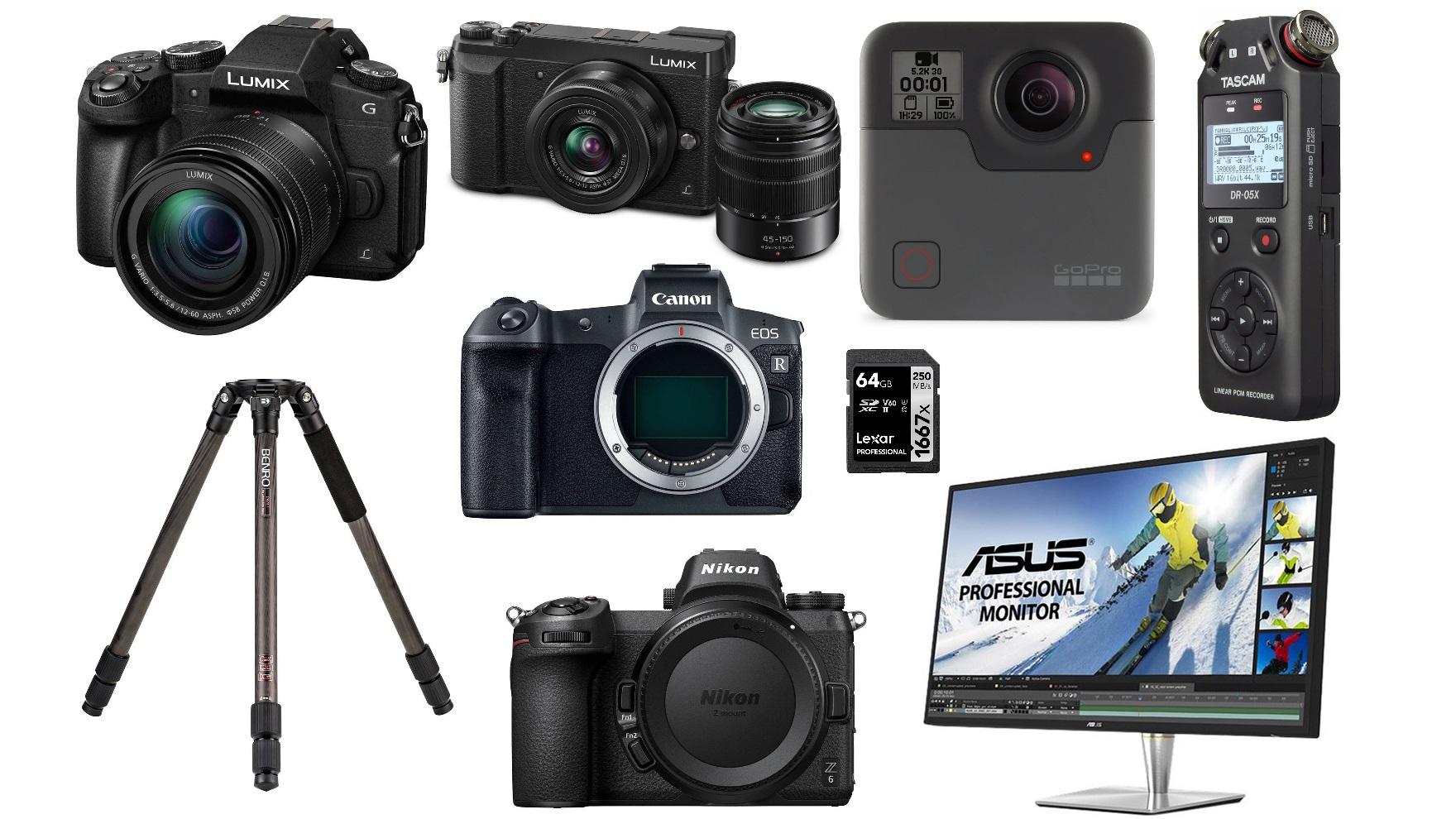 Las mejores ofertas para cineastas de esta semana: cámaras Panasonic, Canon, Nikon, GoPro y más