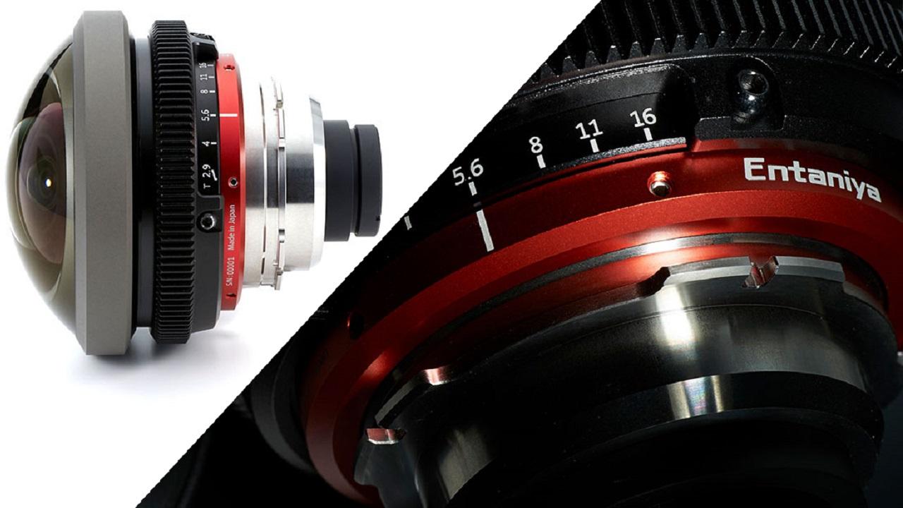 Entaniya Fisheye HAL 220 - Lente de cine de 220 grados de campo de visión para montura PL