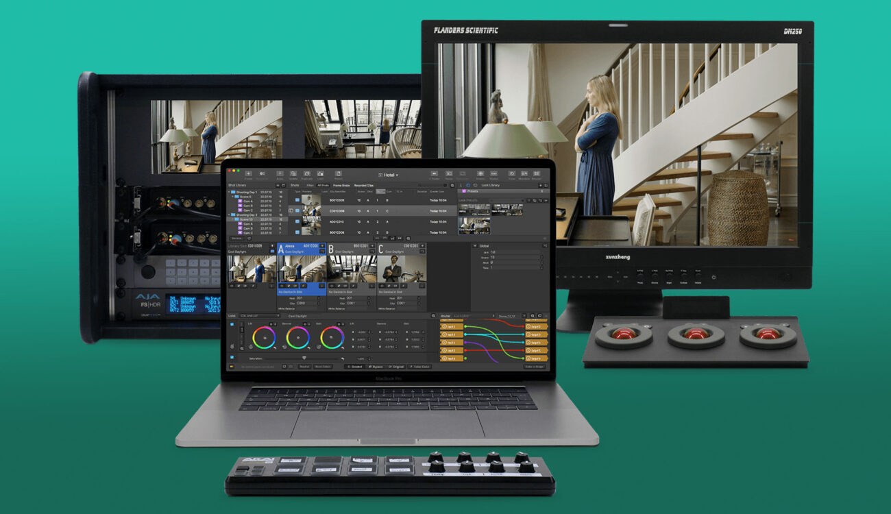 Pomfort Livegrade Studio - Multi Camera Productions Made Easier