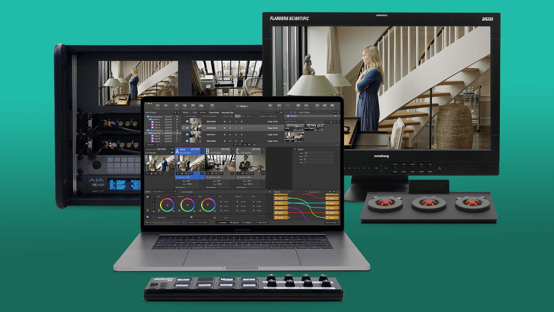 Pomfort Livegrade Studio - Producciones múlti-cámara de forma fácil