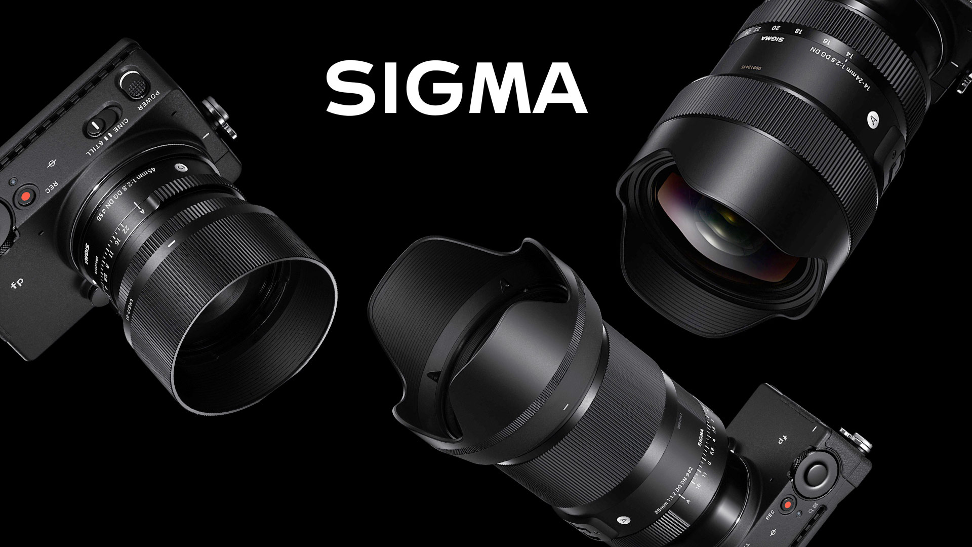 Three New SIGMA Full Frame Lenses – 35mm F1 2, 45mm F2 8