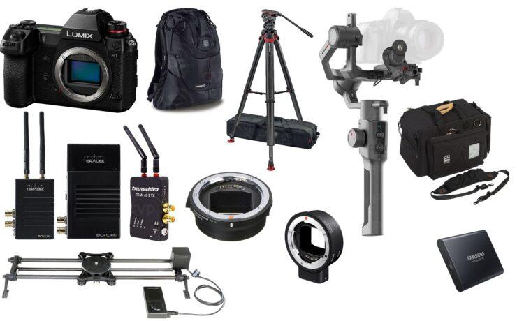 This Week's Top Deals for Filmmakers – Panasonic S1, Rhino Slider, Teradek, Sachtler and More