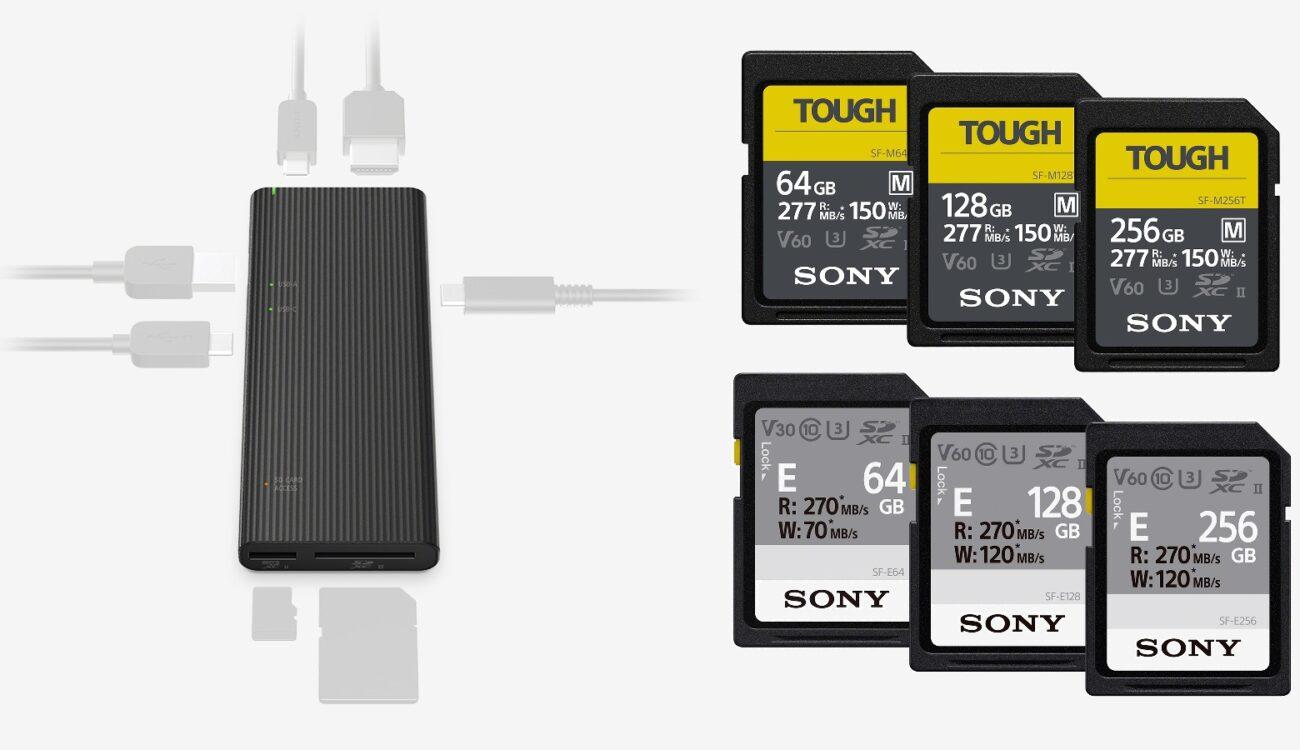 Sony - World's Fastest USB Hub & More TOUGH SDXC Cards Announced