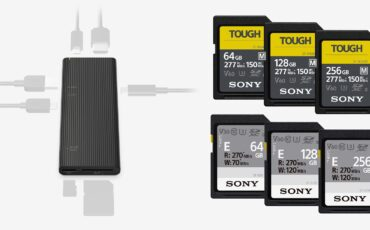 Sony - World's Fastest USB Hub & More TOUGH SDXC Cards Announced