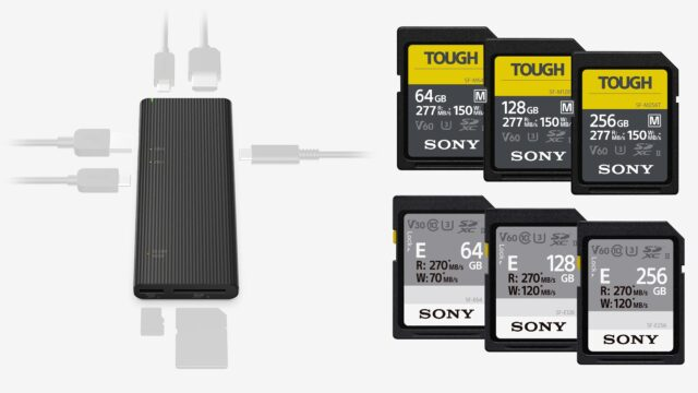 Sony – World's Fastest USB Hub & More TOUGH SDXC Cards Announced