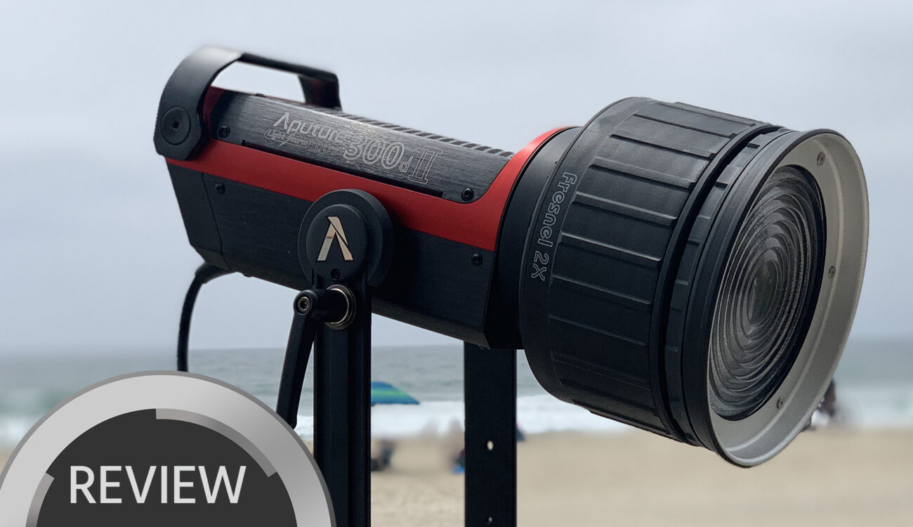 Aputure 300D MK II Review - Aputure's Best Light to Date