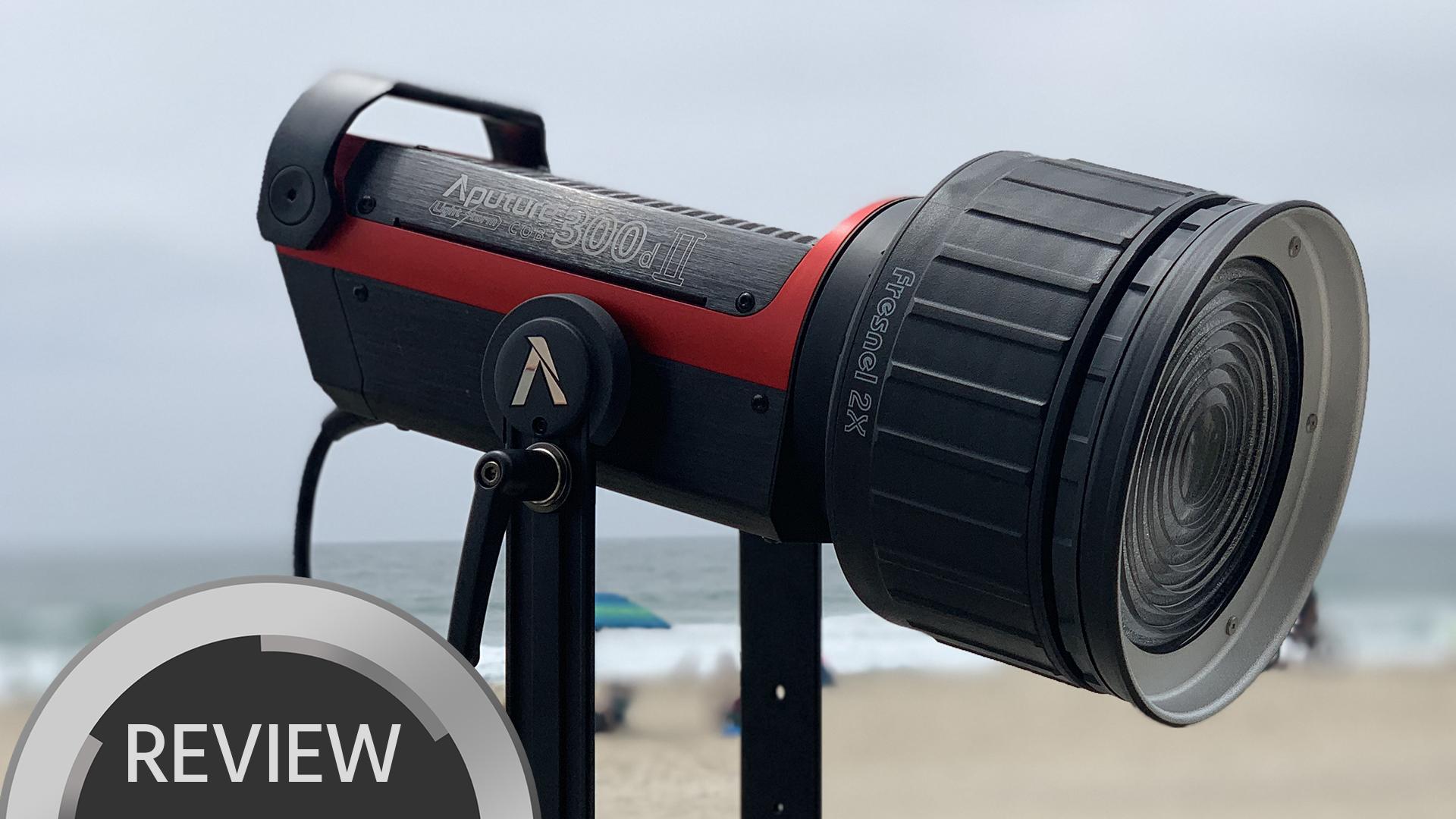 Reseña del Aputure 300D MK II - la mejor luz de Aputure a la fecha