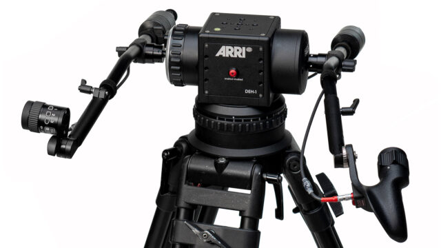 ARRI DEH-1: An addition to the stabilised remote head family