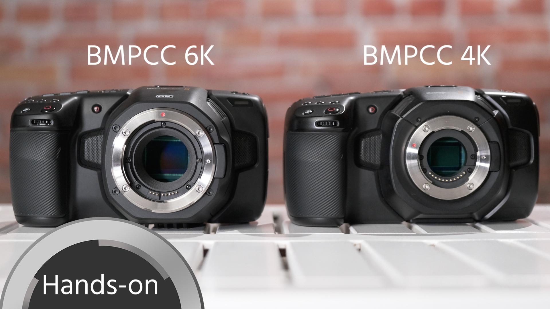 BMPCC 6K vs. BMPCC 4K – ¿Cuál es para ti?