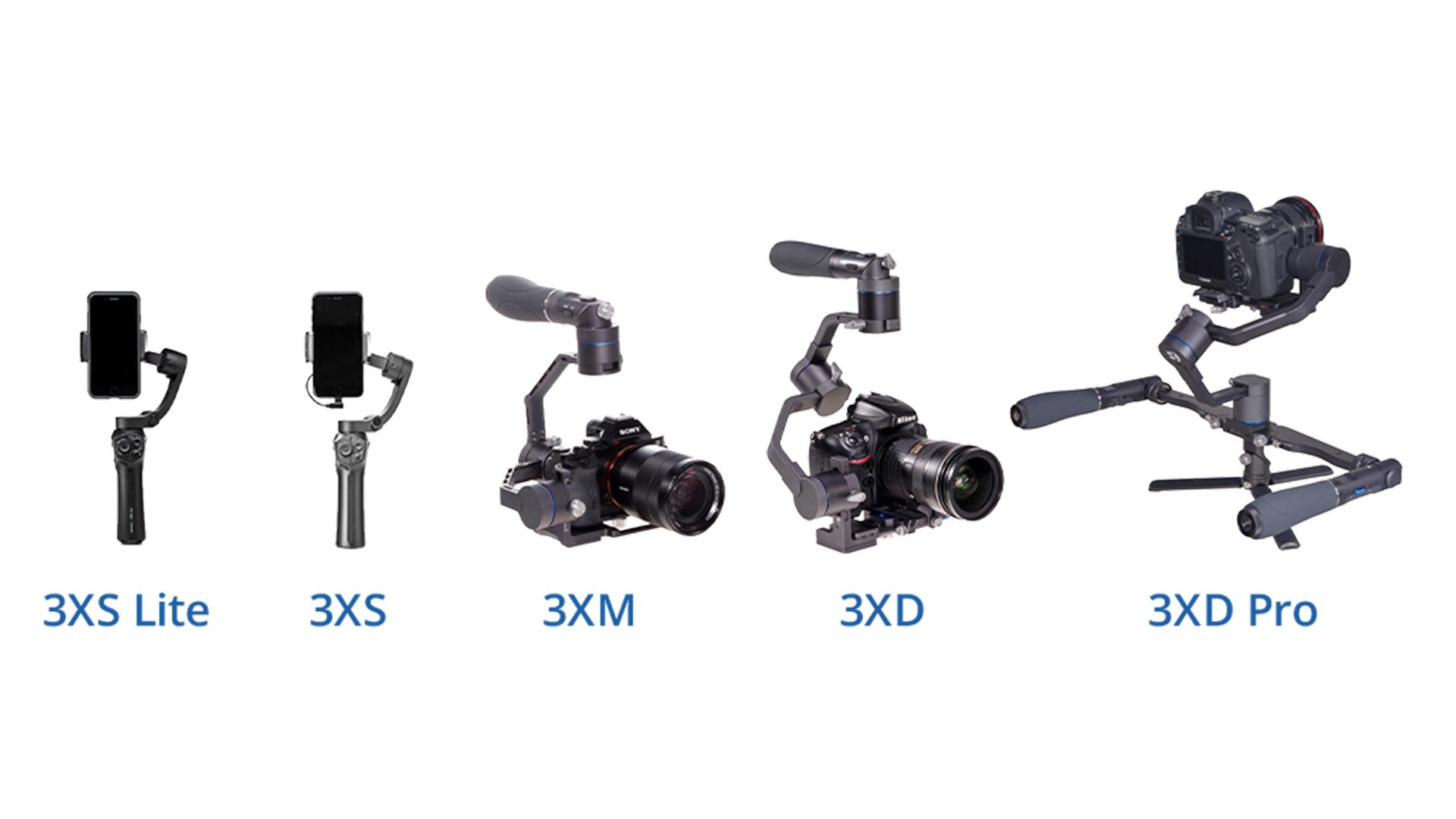 Anuncian los gimbals Benro X-Series