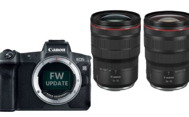 Canon Announces 15-35mm f/2.8 & 24-70mm f/2.8 RF Zooms & New Firmware for EOS R and EOS RP Cameras