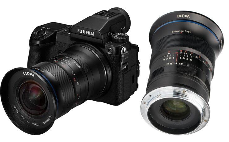 Laowa 17mm f/4 Zero-D Announced - World's Widest Lens for FUJIFILM GFX Cameras