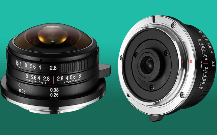 Laowa 4mm f/2.8 Fisheye MFT Lens is Available for Pre-order