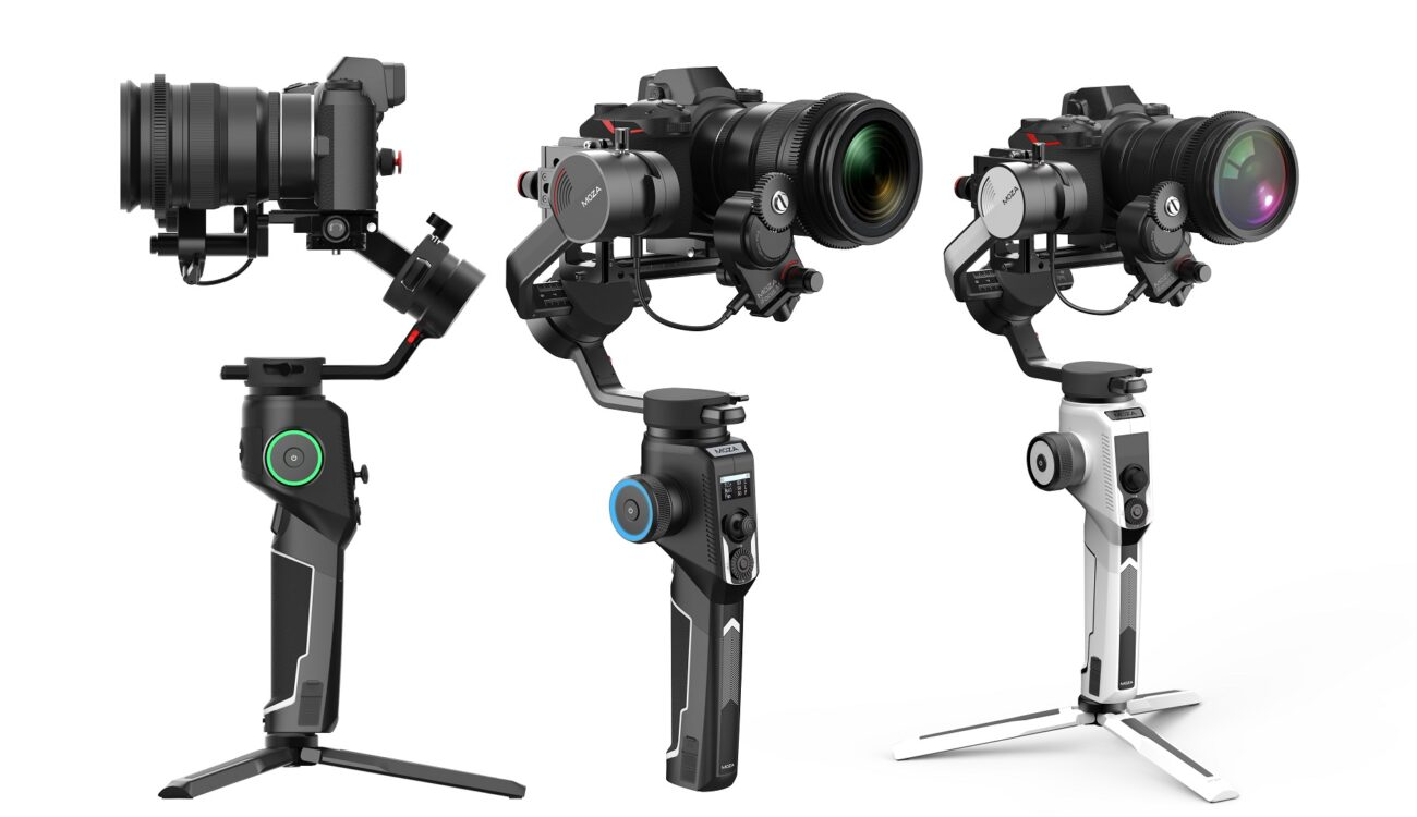 MOZA AirCross 2 - Lightweight Gimbal Available for Pre-order