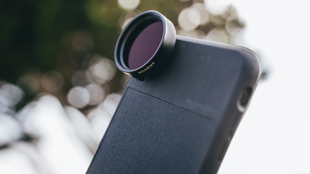 Moment lanza filtros de cine ND y CPL para teléfonos móviles