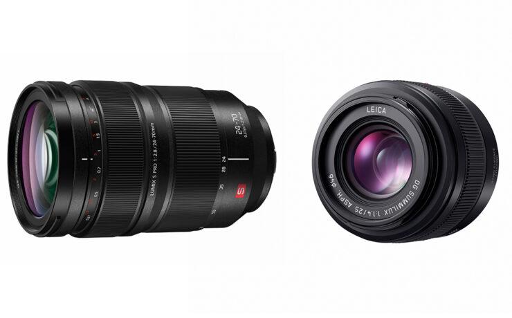 Panasonic's New L & MFT Lenses - LUMIX S PRO 24-70mm F/2.8 and LEICA DG SUMMILUX 25mm F/1.4