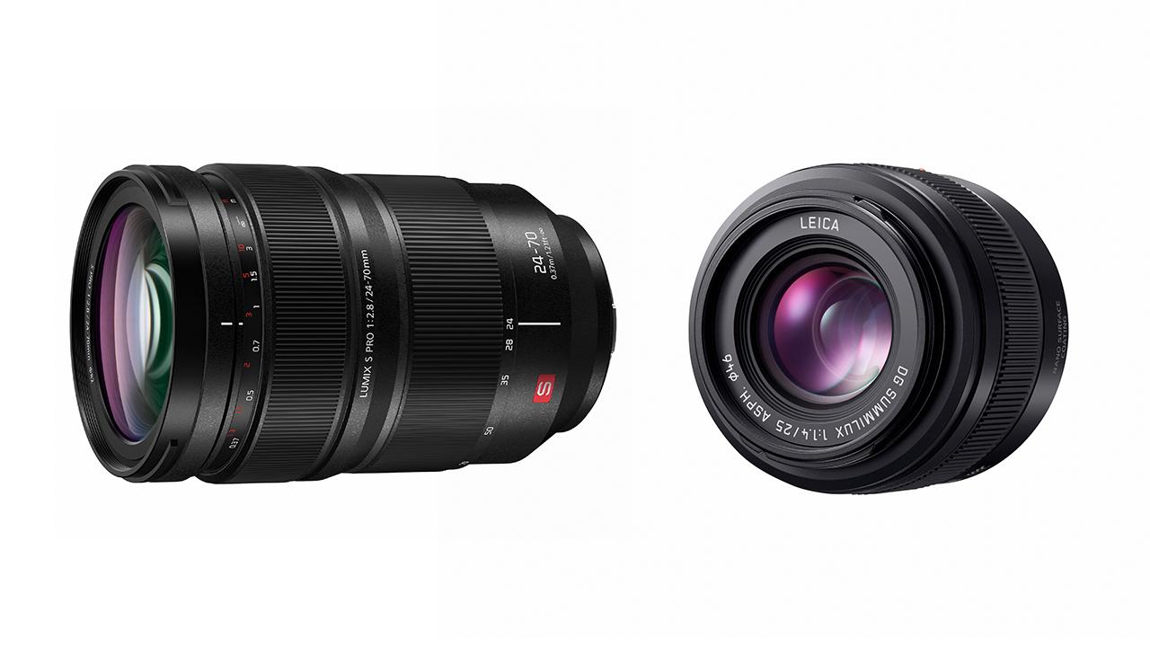 パナソニックがLUMIX S PRO 24-70mm F/2.8とLEICA DG SUMMILUX 25mm F/1.4を発表