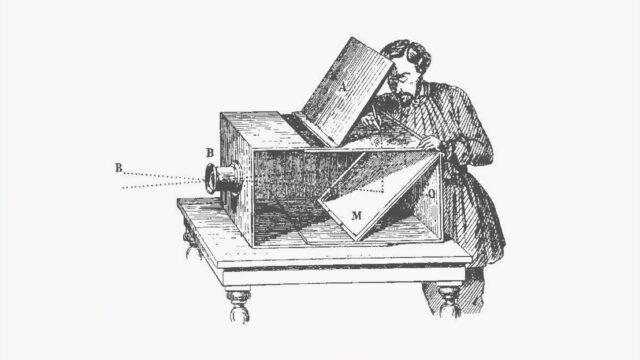 Camera Obscura: Explanatory Graphic