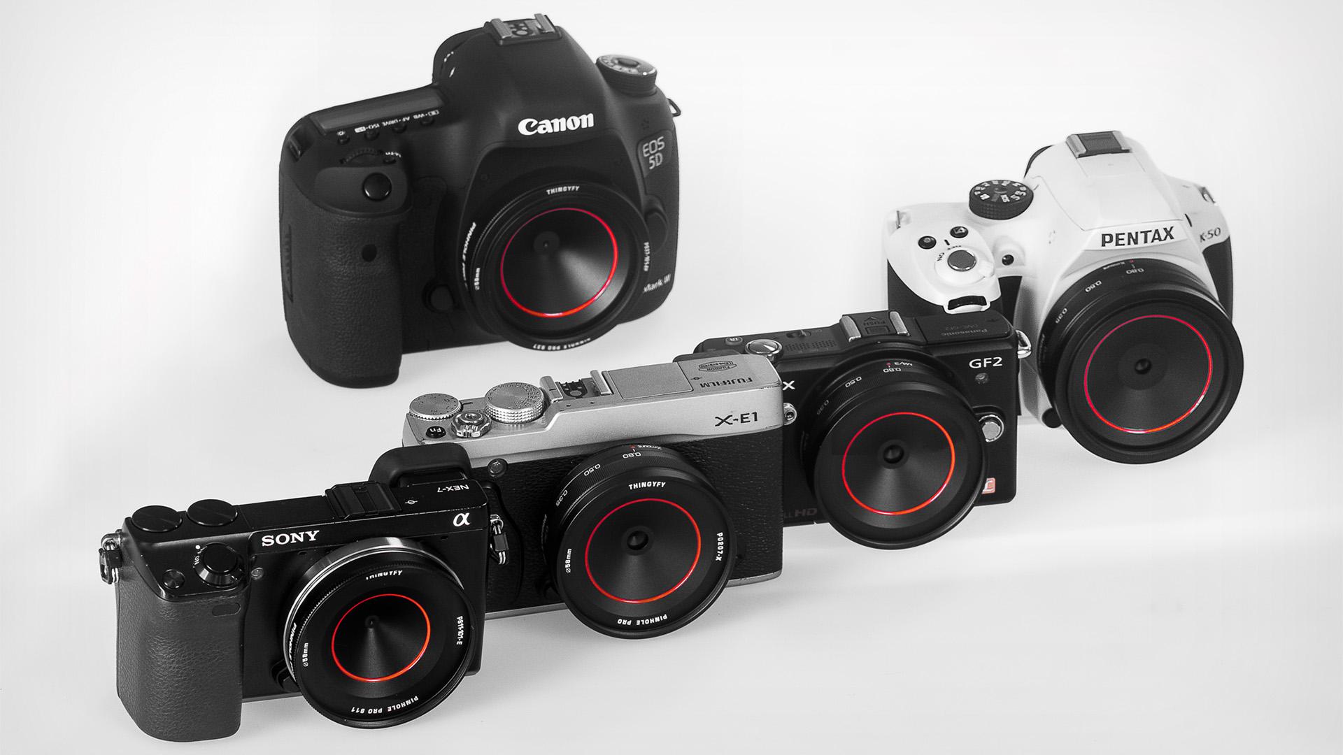 Pinhole Pro X 18-36mmがKickstarterに登録 - 2xズームのピンホールレンズ