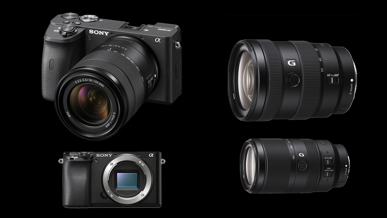 Sony Alpha 6600 and Alpha 6100 Announced with Two New Lenses