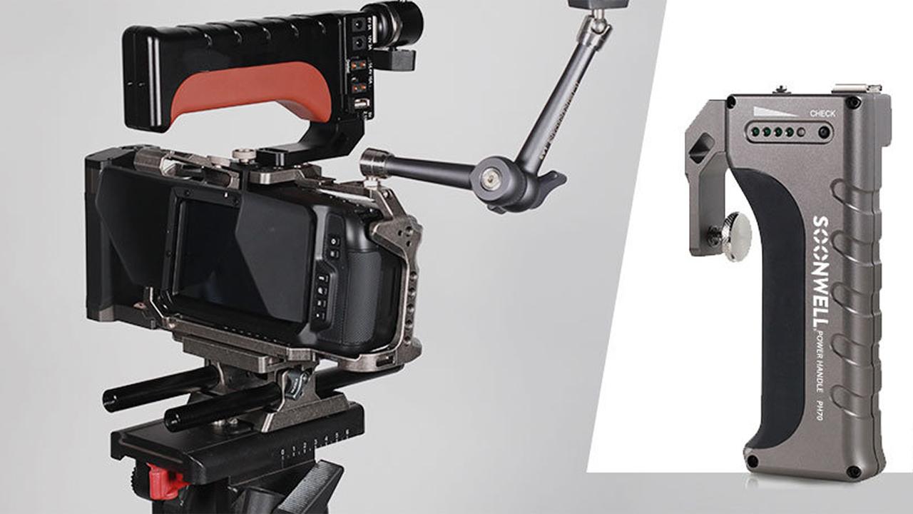 Anuncian la Soonwell PH70 - Manija superior con batería incorporada