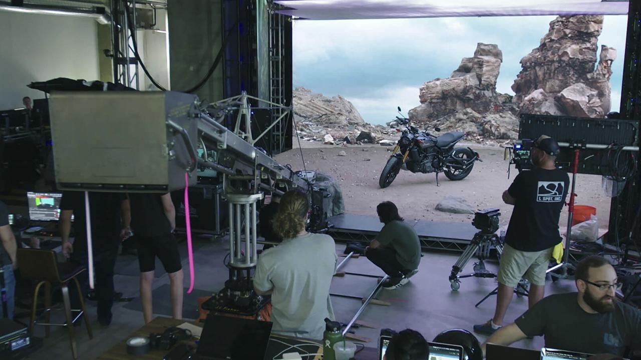Los efectos visuales en-cámara en tiempo real podrían ser el futuro de las pantallas verdes