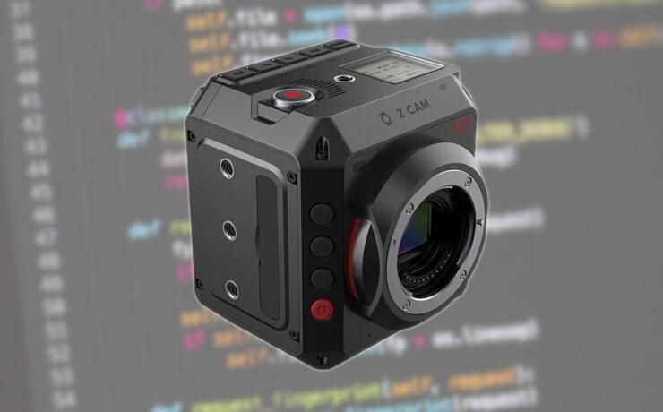 Z CAM E2 Cameras Firmware Update with ZRAW Capabilities