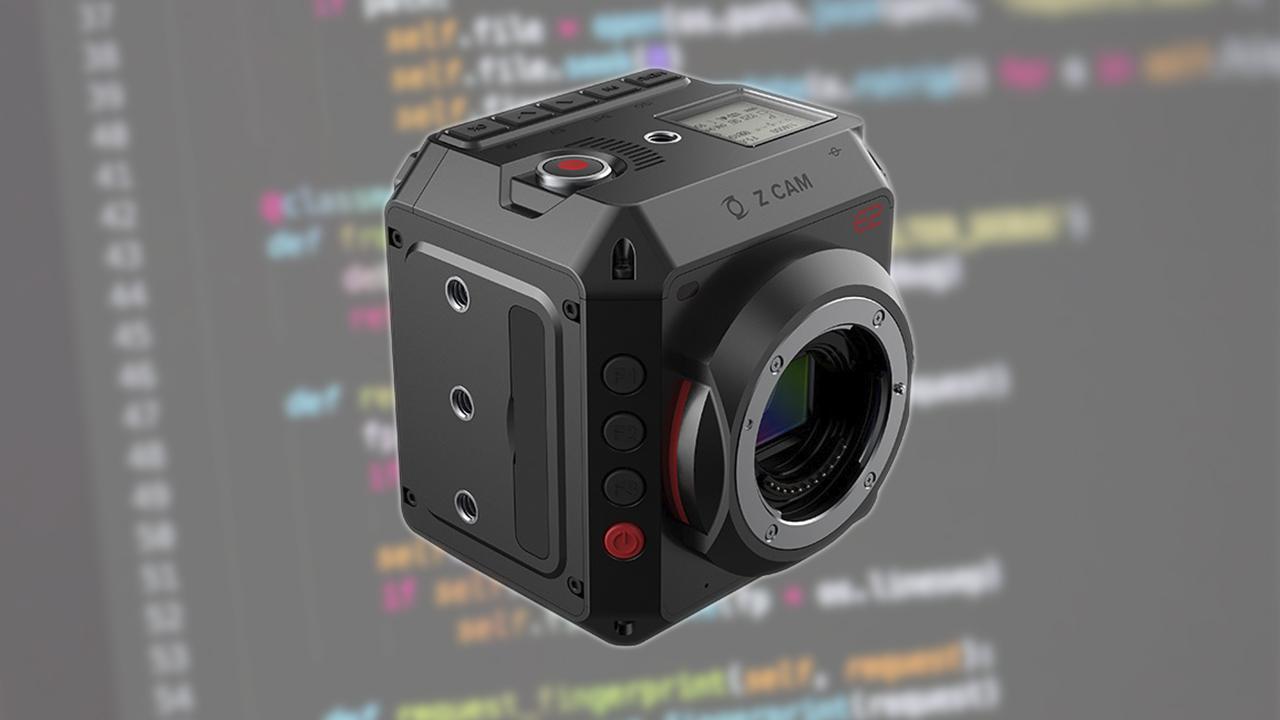 Actualización de firmware para cámaras Z CAM E2 con capacidades ZRAW