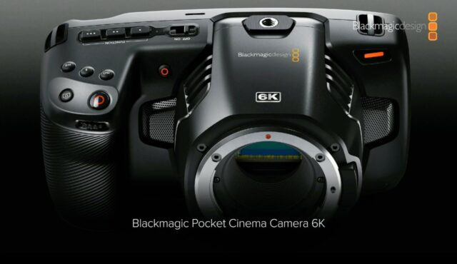 Blackmagic Pocket Cinema Camera 6K. Awkward Form Factor.