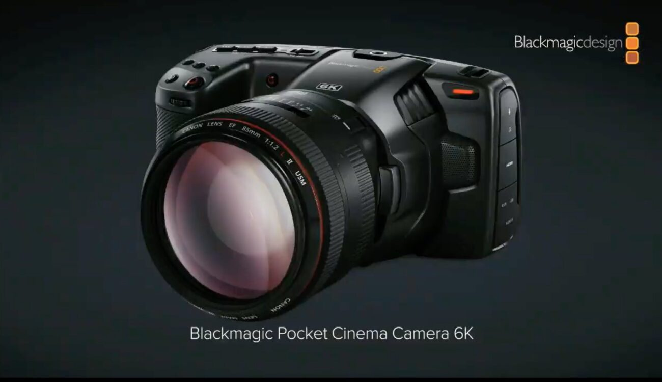 Blackmagic Pocket Cinema Camera 6k Announced Super 35 Sensor And Ef Mount Cined