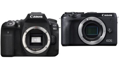 Canon EOS 90D DSLR & EOS M6 Mark II Mirrorless Announced - Uncropped 4K Video